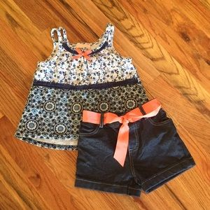 Little Lass Tank and Shorts Set ☀️ Size 3T